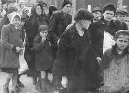 Jewish women and children from Sub