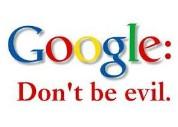 别作恶 Don't be evil.