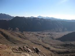 Climbing Mt, Sinai, Chasing Moses in the Dark