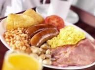 英式早餐(full English breakfast)