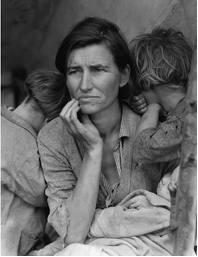 """Migrant Mother"" Dorothea Lange, 1936"
