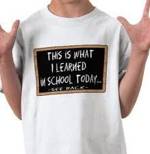 What I Learned at School 我在学校学到了什么?